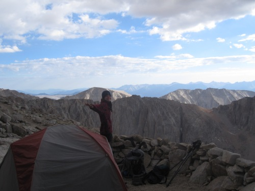 July 14th campsite - 13,500 ft.